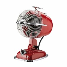 Retrojet Desk Fan Red