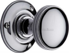 Heritage Richmond Mortice Knobs RHM988 Polished Chrome