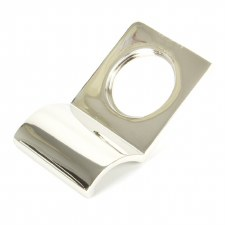 From The Anvil Rim Cylinder Door Pull Polished Nickel