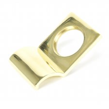 From The Anvil Rim Cylinder Door Pull Polished Brass