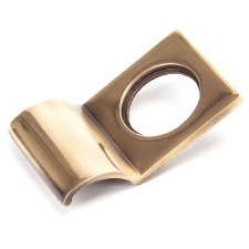 From The Anvil Rim Cylinder Door Pull Polished Bronze