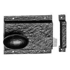 Kirkpatrick 1204 Cast Iron Rim Latch Left Hand