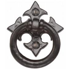 Heritage Tudor Ring Handle TC626 Black Ironwork