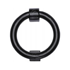 Heritage Ring Knocker FB339 Black Iron Rustic