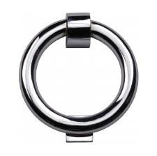 Heritage K1270 Ring Door Knocker Polished Chrome
