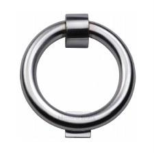 Heritage K1270 Ring Door Knocker Satin Chrome