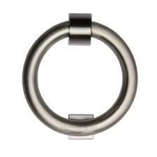 Heritage K1270 Ring Door Knocker Satin Nickel
