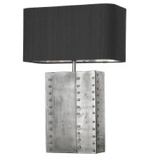 David Hunt RIV4367 Rivet Table Lamp Base Pewter