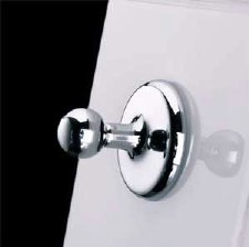 Samuel Heath N1032 Classic Robe Hook Polished Chrome