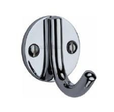Heritage Robe Hook V1064 Polished Chrome