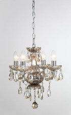 Rodeo 4 Light Chandelier Champagne