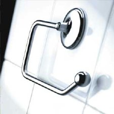 Samuel Heath N1037 Classic Toilet Roll Holder Polished Chrome