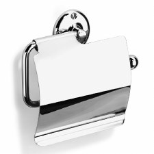 Samuel Heath N37-C Covered Traditional Style Toilet Roll Holder Chrome