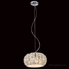 Crystal 3 Light Ceiling Pendant