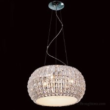 Crystal 9 Light Ceiling Pendant