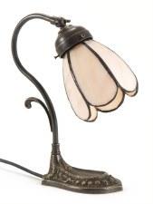 Rose Bud Base Desk or Table Lamp Art Nouveau