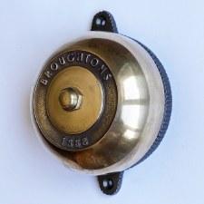 Rotary 1888 Door Bell Renovated Brass