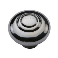 Heritage Round Knob C3985 38mm Polished Chrome