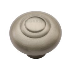 Heritage Round Knob C3985 38mm Satin Nickel