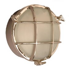 Round Large Ships Bulkhead Outdoor Light