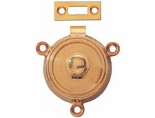 Armac Button Table Catch Brass 57mm