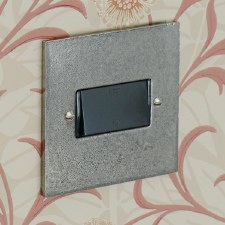 Pewter Fan Isolator Switch