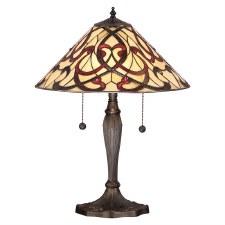Interiors 1900 Ruban Tiffany Table Lamp