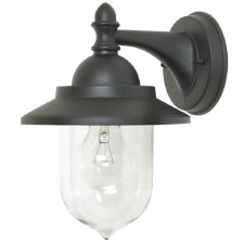 Elstead Sandown Outdoor Wall Light Black