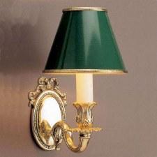 Sandringham Single Wall Light Polished Brass