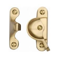 Heritage Sash Fastener V2060 Satin Brass