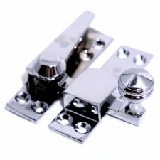 Sash Quadrant Fastener Polished Chrome