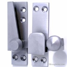 Sash Quadrant Fastener Satin Chrome