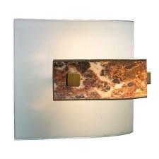 David Hunt MG88 Savoy Flush Wall Light Dark Marble