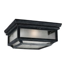 Feiss Shepherd Flush Porch Ceiling Light
