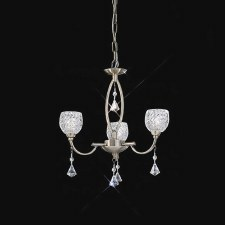 Cherrie Chandelier Light 3 Light Bronze