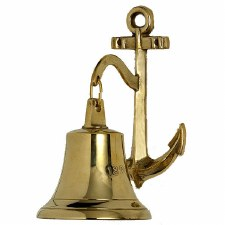 Dated 1827 Anchor Ships Bell Brass Large