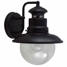 Elstead Shipston Outdoor Wall Light Black