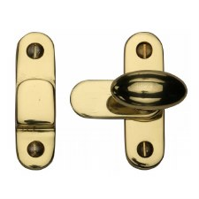 Heritage Showcase Fastener V1970 Polished Brass