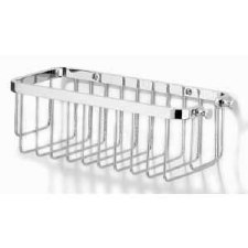 Samuel Heath N28 Rectangular Shower Basket Polished Chome