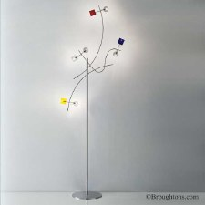 Sil Lux Barcelona Floor Lamp Chrome