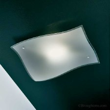 Sil Lux Berlino Flush Ceiling Light