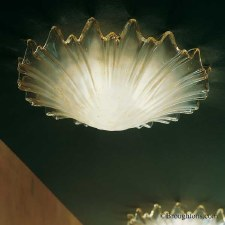 Sil Lux Cortina Small Flush Ceiling Light