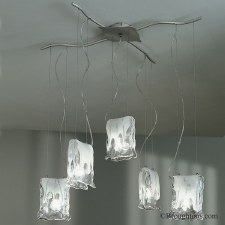 Sil Lux Murano 5 Light Ceiling Light