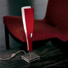 Sil Lux Oslo Table Light Red