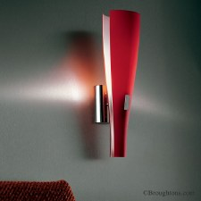 Sil Lux Oslo Wall Light Red