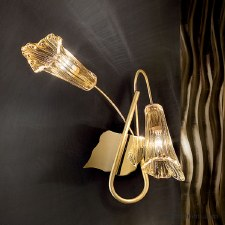 Sil Lux Gold Double Wall Light RH