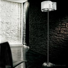 Sil Lux Venezia Floor Lamp White