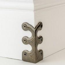 Skiffer Skirting Board Corner Protector Bronze 75mm