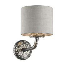 David Hunt SLO0799-SI Sloane Single Wall Light Pewter