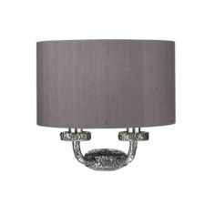 David Hunt SLO3099 Sloane Double Wall Light Pewter